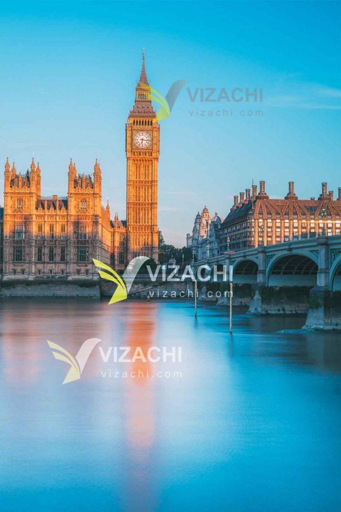 ویزای توریستی انگلستان هزینه مدارک اقامت وقت سفارت انگلستان مهاجرت کاری ویزا ترانزیت عبور ویزیتور ازدواج توریستی انگلیس اقامت لندن دفتر VFS