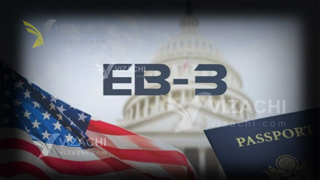 ویزای کاری امریکا EB3 خانوادۀ دارندگان گرین کارت EB3 آمریکا ویزا شغل پاسپورت هزینه مدارک پیکاپ اقامت دائم مهاجرت کاری وقت سفارت امریکا